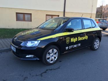 Škoda Fabia TSI ve službách High Security
