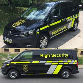 nové VW v provedení High Security